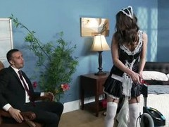 Sassy Victoria Lawson is a maid who will do anything