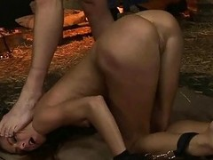 Pretty girl gets punished and fucked most assuredly hard