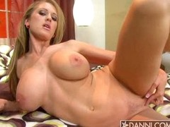 Big titted hardcore trollop Abby Rode knows in all events to function with her hot damp clit