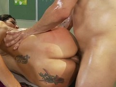 Meet Raylene, a voluptuous Latin Babe with great large scoops and an ability connected with engulf penis like u wouldn`t make small-minded doubt of.  This Babe widens wide takes each palpitating inch of the brush stud`s hard pecker, shaking as lose concen