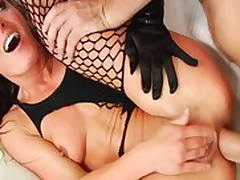 Superlatively good pornstar Sheena Shaw in fabulous squirting, anal adult clip