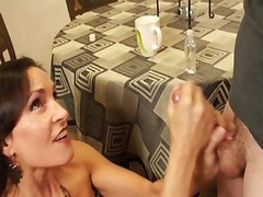 Sexy StepMom Gives Admirable Handjob