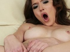 Tiffany Fox is just 20. She`s naked with the addition of plays with her pussy in this steamy solo video. Her small communistic nipples are so unending as she strokes her snatch.
