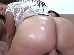 Juicy sexy slut Selena Star with really big ass gets her enormously pretentiously tits fucked by hard cock before she takes dick up her loose pussy. Her ass and tits are the fun as she bounces up and down.