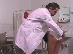 Slavemaster Rick unleashes punishment on those tender titties
