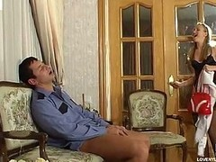 Ugly playgirl encased on every side plain apex nylons having a consenting time with security