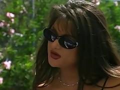 Hot brunette stephanie moans for ever hard dick