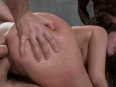 Amazing Kelly Divine is given a double dicking