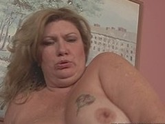Breasty large elegant explicit wench fucked in in all directions from of her holes apart from chocolate dick
