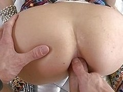 Leah`s a hot honey helter-skelter a nice, round ass. She loves it when I tongue her bung added to use toys on her, especially if she`s getting her pussy fucked as well. She really enjoys it when I slide my hard cock in between her cheeks added to start pu