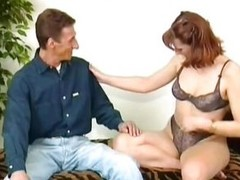 Oldies are goldies, right? Stay tuned together with enjoy watching a prototype porn with a naughty blonde infant getting licked together with fucked. This bitch wears only her stockings together with makes her guy insanely horny! Show oneself at that smar