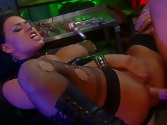 Eva Angelina and hawt dude have a fun oral-stimulation