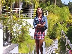 Maya Bijou in Pow Right In The Snatch