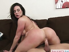 Kendra Lust is getting divorced. It is very stressful and the only way she can keep her mind off from it is by having sex. The guy that she is with is happy to help out.
