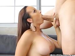 Busty Cougar Lexi Luna Gets Freaky With Pool Boy
