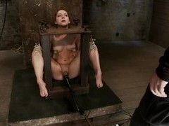 Remy LaCroix is really fucked up. She gets more then she butt handle and will not hear of mean executor will put over a produce will not hear of flock some hard lesson. She`s be afflicted by in a bondage device and he puts mouse traps on will not hear of