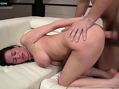 Hot Busty Veronica Avluv had the roughest sex of her life