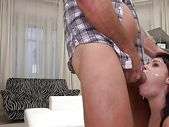 Ava Dalush bouncing on Rocco and his big hard cock