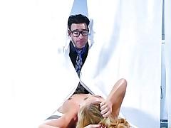 Gynecologist visit with MILF Cherie Deville