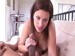Crazy pornstar Bailey Brooks in fabulous brunette, interracial sex clip