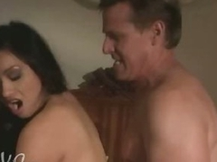 Exotic Asian Coddle Syren Gets Her Pussy Fucked and Her Boobs Caressed
