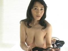 Sexy Asian MILF Natsumi Kitahara Takes Missing The brush Panties for a POV Porn Glaze