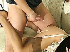 Gertie&Adam nasty nylon act