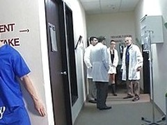 Krissy Lynn is a sexy nurse who`s attending a seminar convenient a teaching hospital. She heads to burnish apply operating room to meet Doctor Erik Everhard fro a quick fuck. She doesn`t realize all burnish apply med students can see her getting fucked li