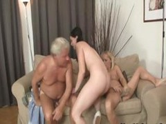 This couple`s parents join in on this sex orgy of a foursome