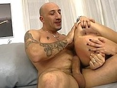 Hawt Irina Makes Omar So Proud! This Babe Engulf & Fuck Disposed to A Pro!