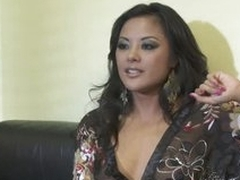 Stunning Office Sluts Kaylani Lei and Chanel Preston Have a Threesome