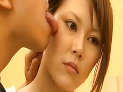 Asian babe getting a rod slamming
