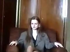 Shy Latvian Virgin Is Seduced On Camera Part 1