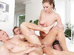 Gabriella Daniels & Aslan Brutti & Mark Black in Bi Sexual Cuckold #09 - BiEmpire