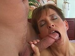 Slutty older widely applicable Sava in black nylon stockings remembers how it used to be. She gets slam fucked by horny as hell boy. He drills her shaved mature pussy curiously.